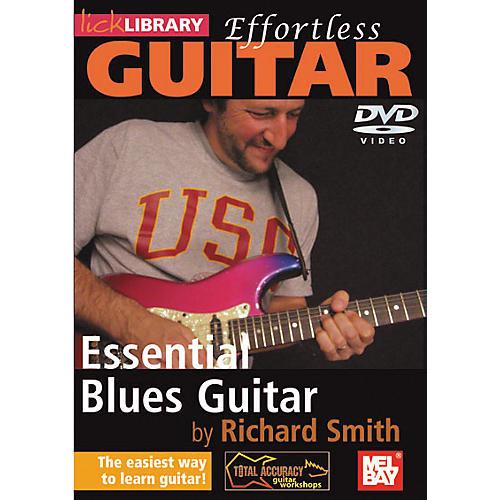 Mel Bay Lick Library Effortless Guitar - Blues Guitar Techniques DVD
