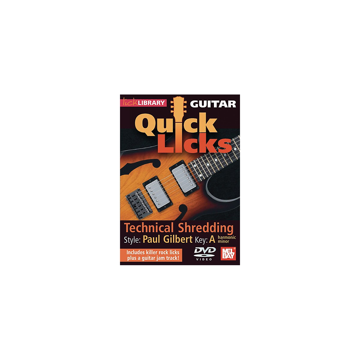 Mel Bay Lick Library Guitar Quick Licks