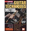 Mel Bay Lick Library Learn Guitar Techniques: Metal Kirk Hammett Style DVD thumbnail