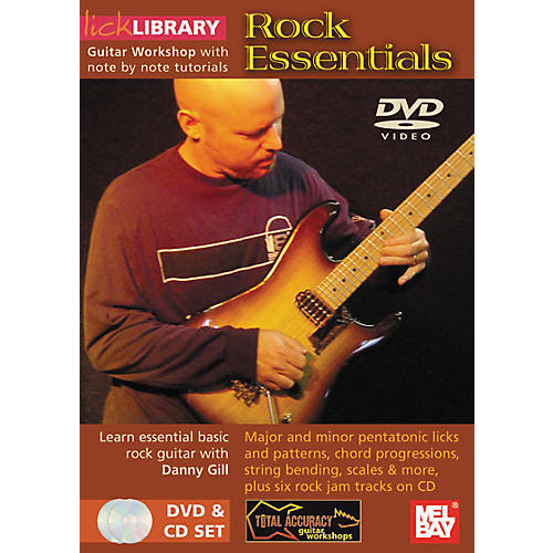Mel Bay Lick Library Rock Essentials DVD and CD Set