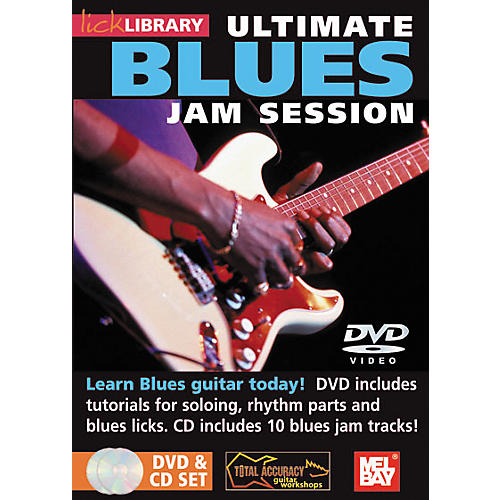 Mel Bay Lick Library Ultimate Blues Jam Session Volume 1 DVD and CD Set