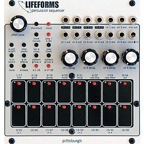 pittsburgh modular synthesizers lifeforms percussion sequencer guitar center. Black Bedroom Furniture Sets. Home Design Ideas