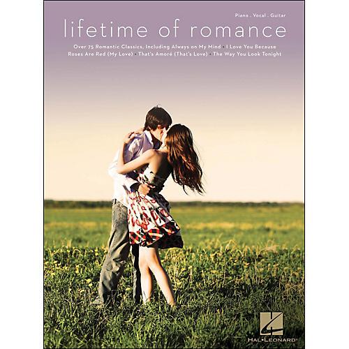 Hal Leonard Lifetime Of Romance arranged for piano, vocal, and guitar (P/V/G)