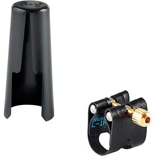 Rovner Light Soprano Saxophone Ligature and Cap