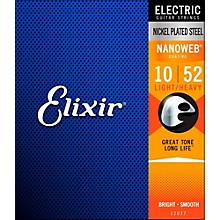 Elixir Light Top/Heavy Bottom Nanoweb Electric Guitar Strings 2 Pack