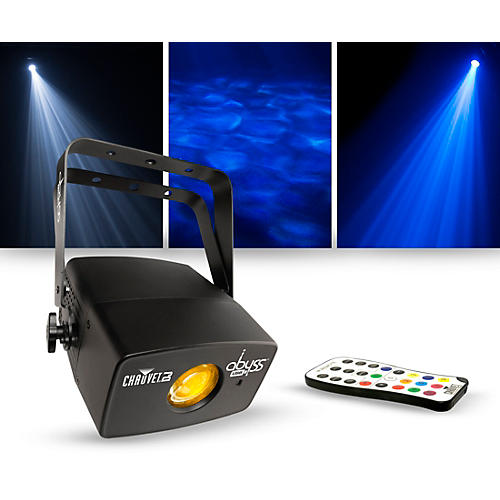 CHAUVET DJ Lighting Package with Abyss USB Multicolored Water Effect and IRC-6 Controller