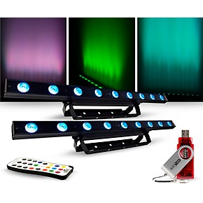 chauvet dj lighting package with colorband led effect light irc 6 and d fi controllers guitar. Black Bedroom Furniture Sets. Home Design Ideas