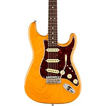 Lightweight Ash American Professional Stratocaster Electric Guitar Level 2 Aged Natural 190839863645