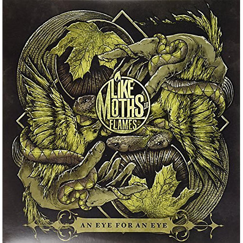 Alliance Like Moths to Flames - An Eye For An Eye (Cream Vinyl)