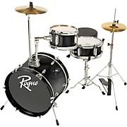 Lil' Kicker 3-Piece Junior Drum Set Black