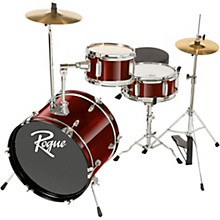 Lil' Kicker 3-Piece Junior Drum Set Dark Red