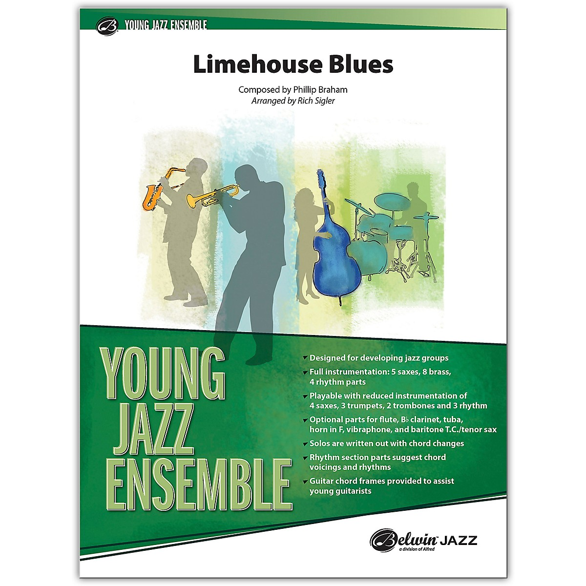 BELWIN Limehouse Blues Conductor Score 2 (Medium Easy)