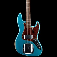 Fender Custom Shop Limited Edition 1960 Relic Jazz Bass Custom Built Aged Ocean Turquoise