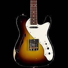 Fender Custom Shop Limited Edition '50s Thinline Relic Telecaster Rosewood Neck Swamp Burst