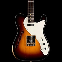 Fender Custom Shop Limited Edition '50s Thinline Relic Telecaster Rosewood Neck Wide Fade 2-Color Sunburst
