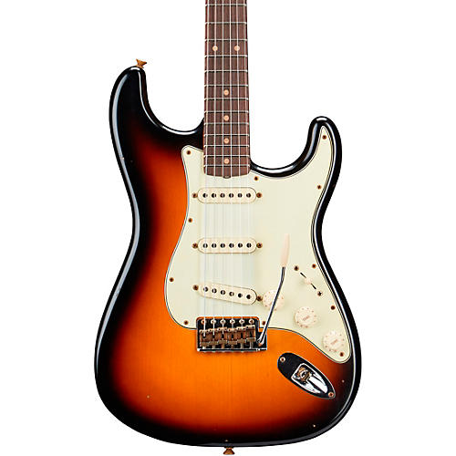 Fender Custom Shop Limited Edition 60 Stratocaster Journeyman Relic Rosewood Fingerboard Electric Guitar