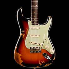 Fender Custom Shop Limited Edition '60s Heavy Relic Stratocaster with Compound Radius Aged 3-Color Sunburst