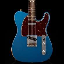 Fender Custom Shop Limited Edition '63 Telecaster Relic Electric Guitar Aged Lake Placid Blue