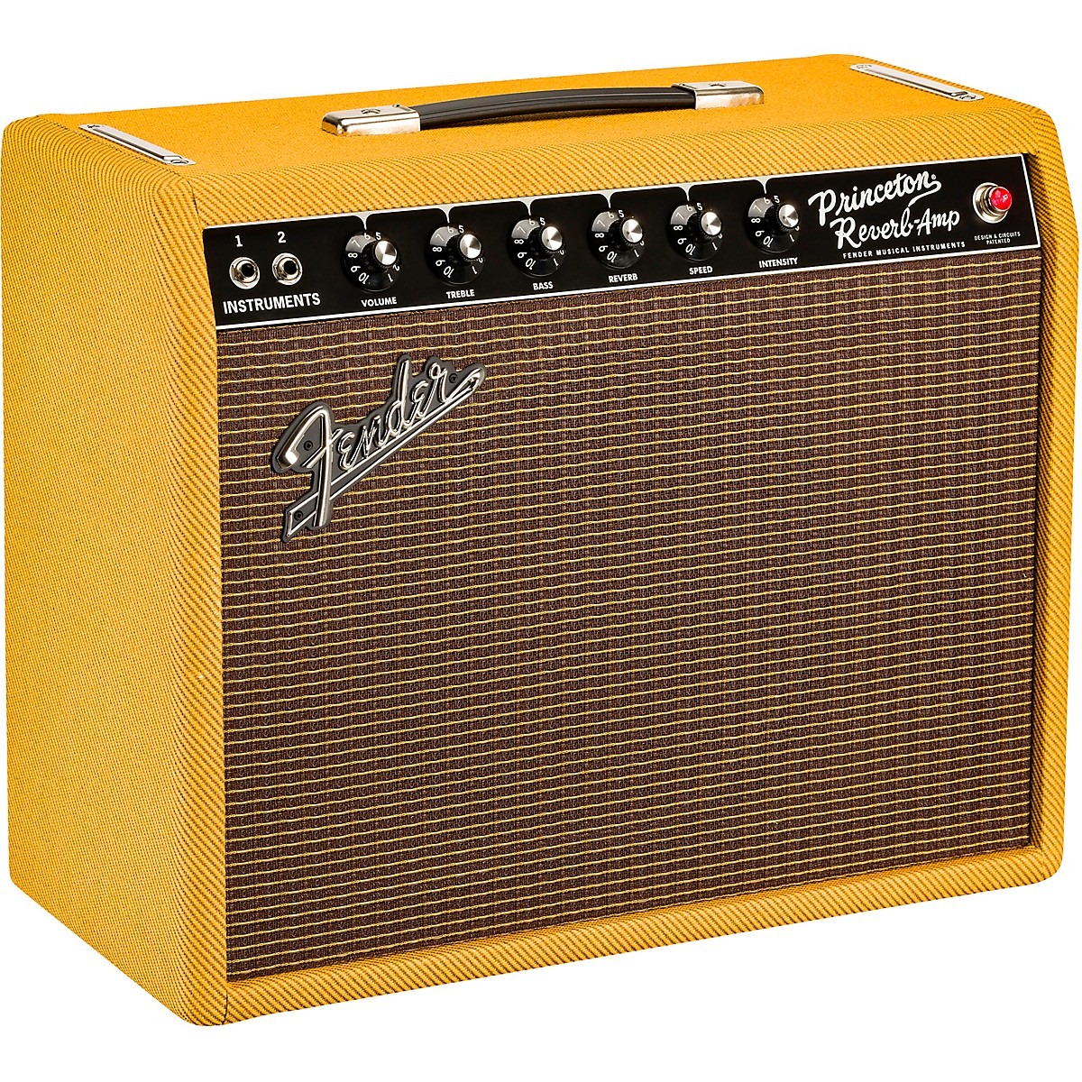Fender Limited-Edition '65 Princeton Reverb 12W 1x12 Tube Guitar Combo Amp