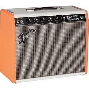 limited edition 39 65 princeton reverb tube guitar combo amp 2 color orange white guitar center. Black Bedroom Furniture Sets. Home Design Ideas