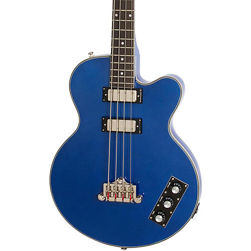 Epiphone Limited Edition Allen Woody Rumblekat Blue Royale Bass Guitar