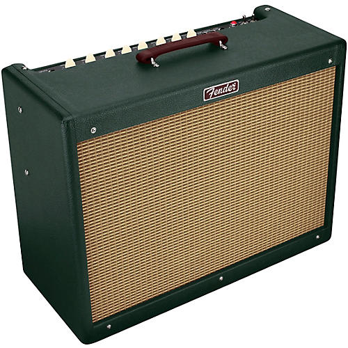 fender limited edition blues deluxe 40w tube guitar combo amplifier emerald guitar center. Black Bedroom Furniture Sets. Home Design Ideas