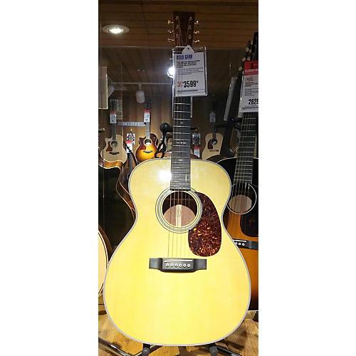 used martin limited edition custom shop waterfall bubinga 000 42 acoustic guitar guitar center. Black Bedroom Furniture Sets. Home Design Ideas