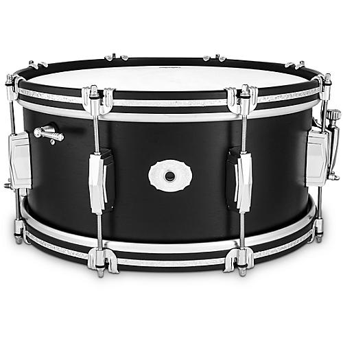 Ludwig Limited Edition Legacy Mahogany 14x6.5 Snare Drum- Black Cat