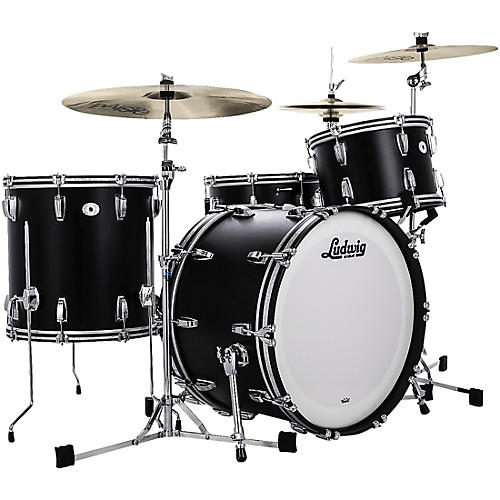 Ludwig Limited Edition Legacy Mahogany Fab Shell Pack with 22 in. Bass Drum-