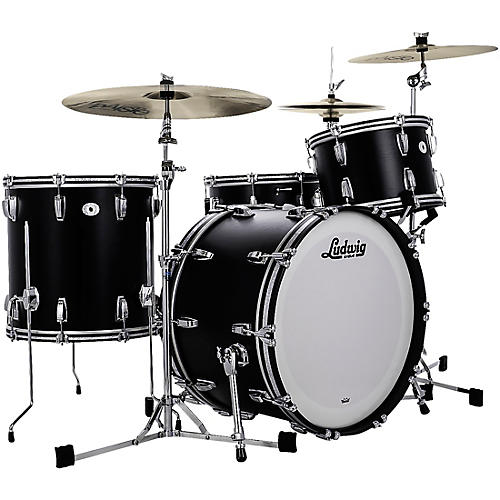 Ludwig Limited Edition Legacy Mahogany Pro Beat Shell Pack with 24 in. Bass Drum-