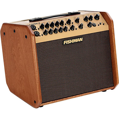 fishman limited edition mahogany loudbox artist 120w 1x8 acoustic guitar combo amplifier wood. Black Bedroom Furniture Sets. Home Design Ideas