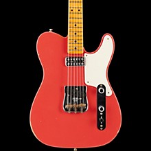 Fender Custom Shop Limited Edition Relic Tele Caballo Tono with Maple Fingerboard Electric Guitar Faded Fiesta Red