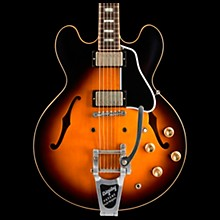Gibson Limited Run ES-335 Anchor Stud Bigsby VOS Semi-Hollow Electric Guitar Antique Vintage Sunburst 5-ply Black Pickguard