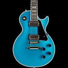 Limited Run Les Paul Custom Sparkle Electric Guitar Blue Abalone Sparkle