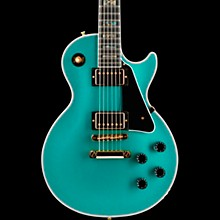 Limited Run Les Paul Custom Sparkle Electric Guitar Green Abalone Sparkle