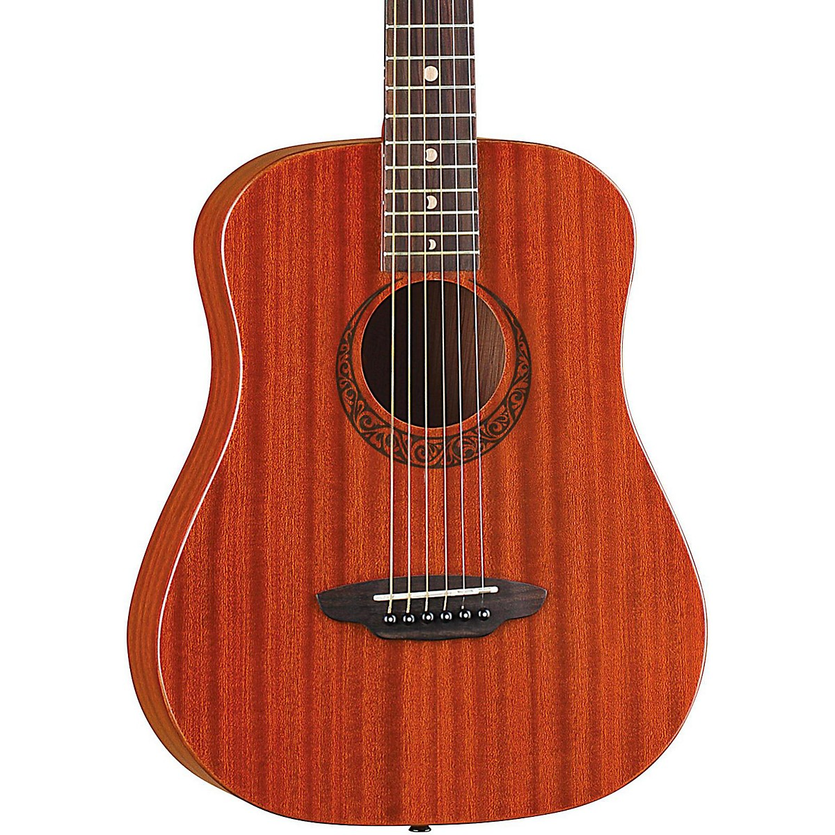 Luna Guitars Limited Safari Muse Mahogany 3/4 Size Acoustic Guitar