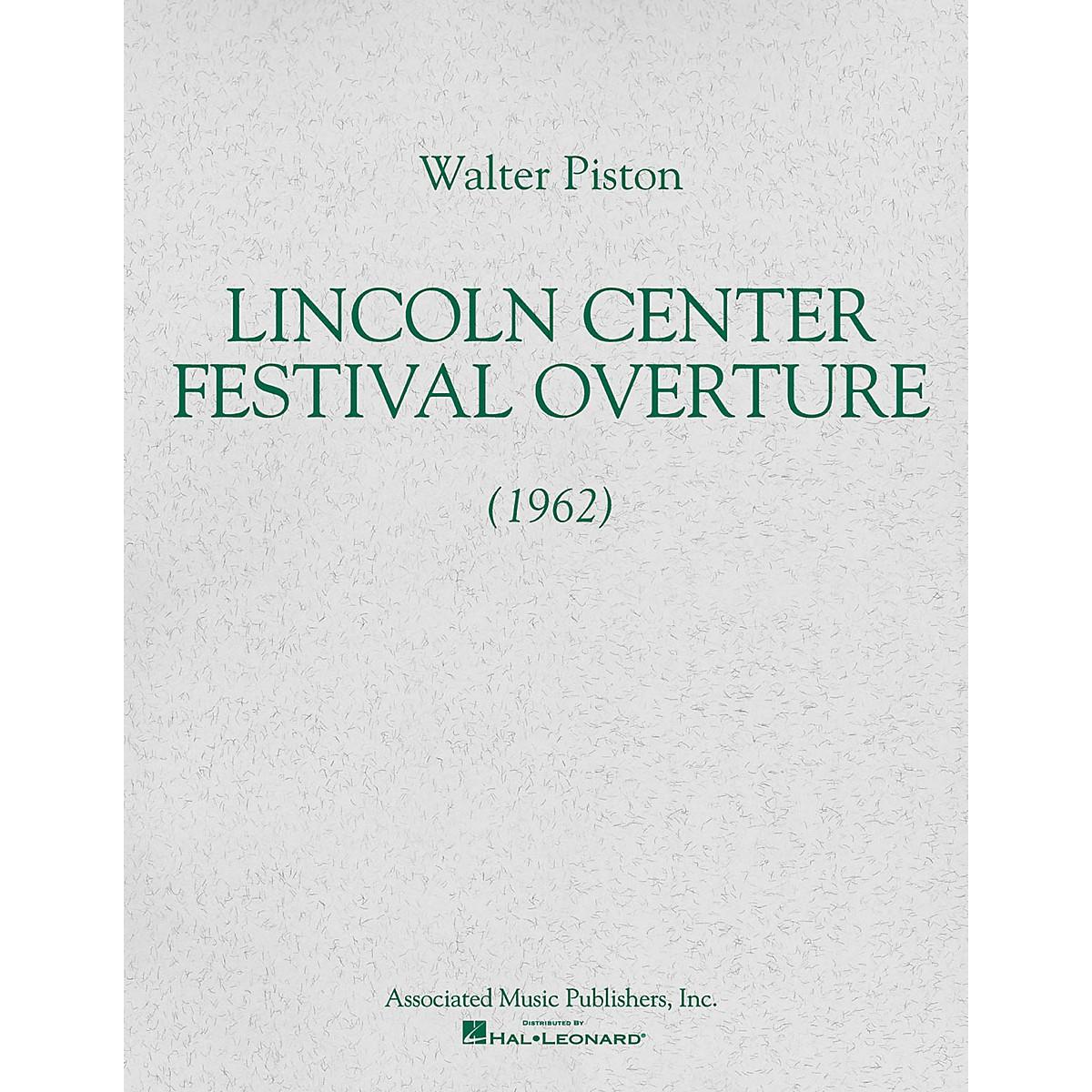Associated Lincoln Center Festival Overture (1962) (Full Score) Study Score Series Composed by Walter Piston