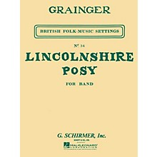 G. Schirmer Lincolnshire Posy (Score and Parts) Concert Band Level 4-5 Composed by Percy Grainger
