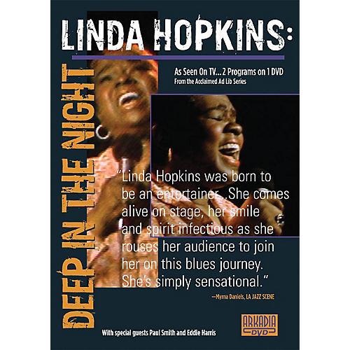 Hal Leonard Linda Hopkins - Deep in the Night (Visions of Jazz Series) DVD Series DVD Performed by Linda Hopkins
