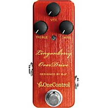 One Control Lingonberry Overdrive Effects Pedal