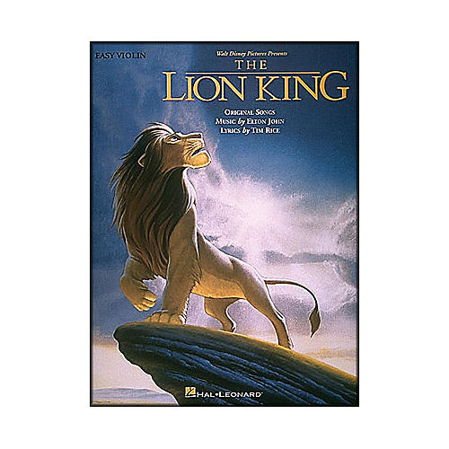 Hal Leonard Lion King for Easy Violin