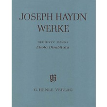 G. Henle Verlag L'isola Disabitata - Azione Teatrale HOB.XXVIII:9 Henle Complete Ed by Haydn Edited by Günter Thomas