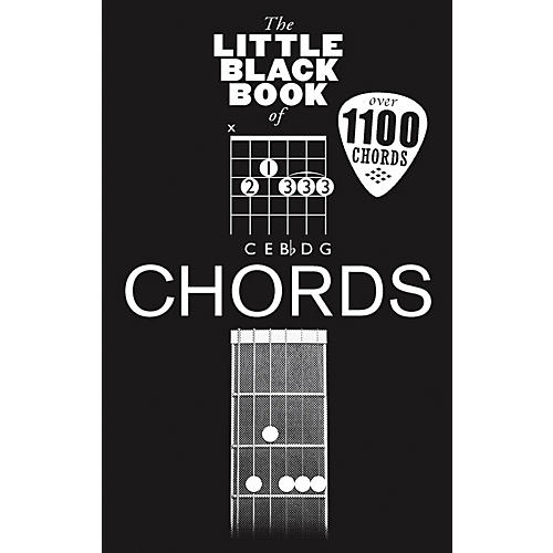 Music Sales Little Black Book Of Chords - Guitar