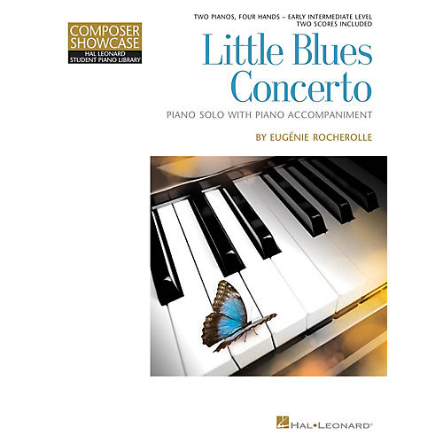 Hal Leonard Little Blues Concerto Piano Library Series Book (Level Early Inter)