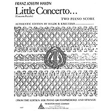 Boston Music Little Concerto in C Music Sales America Series