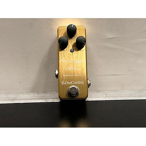 One Control Little Copper Chorus Effect Pedal Effect Pedal