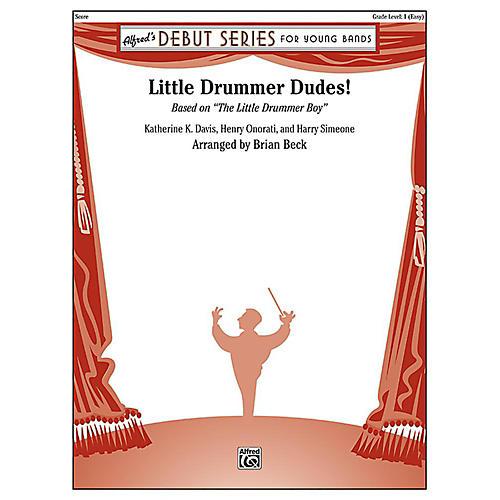 Alfred Little Drummer Dudes! Concert Band Grade 1 Set