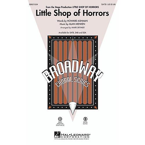 Hal Leonard Little Shop of Horrors SSA Arranged by Mark Brymer