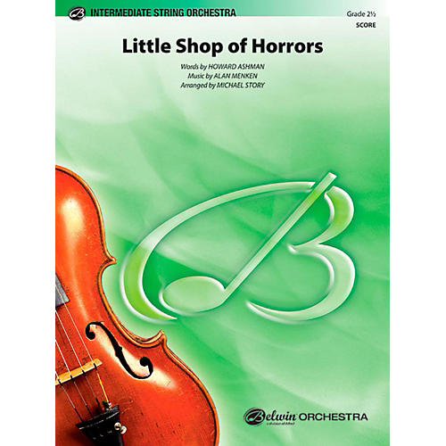 Alfred Little Shop of Horrors String Orchestra Level 2.5 Set