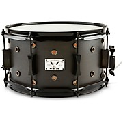 Little Squealer Snare Drum Satin Black Ebony 7 x 13 in.